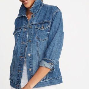 NWOT Old Navy Boyfriend Jean jacket
